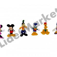 Set 6 figurine Disney Mickey Mouse - colectioneaza toate personajele ! - Figurina Desene animate