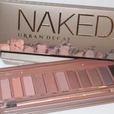 Trusa machiaj 12 culori Naked 3 : fard ochi roz, nud, bej, somon, etc - Trusa make up Urban Decay