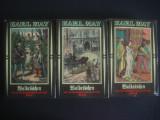 KARL MAY - WALDROSCHEN ODER DIE RACHERJAGD RUND UM DIE ERDE 3 volume {germana}