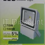 PROIECTOR CU LED 70W ALB RECE 6500K - Corp de iluminat, Proiectoare