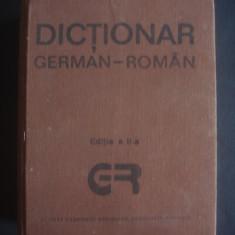 DICTIONAR GERMAN ROMAN 140000 cuvinte Altele
