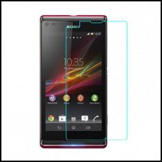 Folie sticla Sony Xperia L S36H - tempered glass ecran display lcd - Folie de protectie