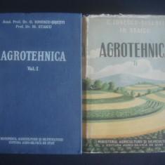 G. IONESCU SISESTI * IRIMIE STAICU - AGROTEHNICA 2 volume