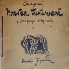 NOAPTEA FURTUNOASA. CARAGIALE, CU 16 LITOGRAFII ORIGINALE DE AUREL JIQUIDI 1931, DEDICATIE*