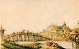 CPI- Ansamblul arhitectural Mihai Voda la 1794, dupa acuarela lui Luigi Mayer