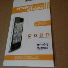 Folie protectie Samsung Galaxy A7 - ecran, display, LCD - Folie de protectie Oem