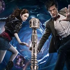 Pandantiv Serial Doctor Who Sonic ScrewDriver - Surubelnita Retro Calitate - Colier fashion