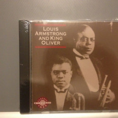 LOUIS ARMSTRONG & KING OLIVER (1992/MILESTONE REC/ USA) - CD/SIGILAT/NOU - Muzica Jazz rca records