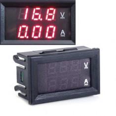 VOLTAMPERMETRU voltmetru ampermetru digital 100V cabluri de conectare shunt 10A