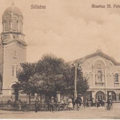 SILISTRA, BISERICA SF. PETRU SI PAVEL, NECIRCULATA - Carte Postala Dobrogea dupa 1918, Printata