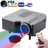 SALE: Videoproiector mini cu tehnologie LED, HDMI, USB STICK, TELECOMANDA, Card