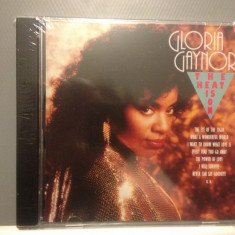 GLORIA GAYNOR - THE HEAT IS ON  (1992/ CASTLE REC/ GERMANY ) - CD/SIGILAT/NOU, universal records