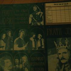 Film Fratii Jderi - Orar, reclama film (varianta verde) / 1971