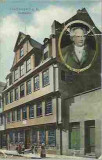 CARTE POSTALA FRANKFURT GOETHEHAUS, 1906