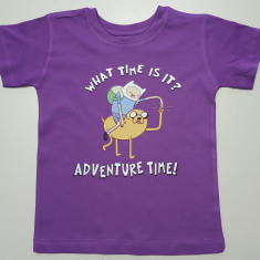 Tricou Adventure Time T-Shirt Finn & Jake - 5-6 ani!!, YS, Din imagine