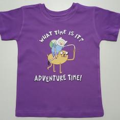 Tricou Adventure Time T-Shirt Finn & Jake - 5-6 ani!!, YS, Din imagine