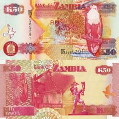 ZAMBIA 50 kwacha 2006 UNC!!!