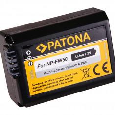 PATONA | Acumulator compatibil Sony NP-FW50 NPFW50 NP FW50 NEX.5 A NEX-3 NEX-3C - Baterie Aparat foto PATONA, Dedicat
