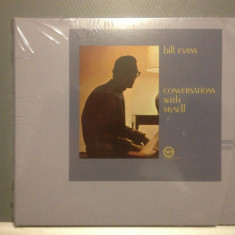 BILL EVANS - CONVERSATIONS WITH MYSELF (1984/VERVE REC/GERMANY) - CD/SIGILAT/NOU - Muzica Jazz universal records