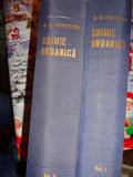 Chimie organica vol.1+2 an 1966/895+1020pag- Nenitescu