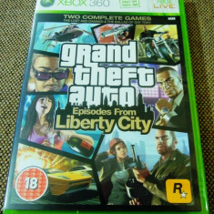 Joc GTA, Grand Theft Auto Episodes from Liberty City, XBOX360, original! - Jocuri Xbox 360, Actiune, 18+, Single player