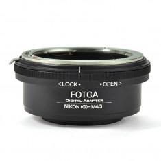 Adaptor Obiective Nikon AI AI-S D E G pentru micro 4/3 olympus inel diafragma - Inel adaptor obiectiv foto