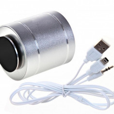 Boxa cu Amplificare prin Vibratii telecomanda Sunet 360 grade Radio MP3 - Boxa portabila