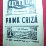 G.Civinini - Prima Criza  si G.Deledda- Don Eveno - Colectia Lectura ,interbelic