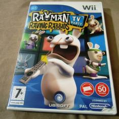 Joc Rayman Raving Rabbids TV Party, Wii, original, alte sute de jocuri! - Jocuri WII Ubisoft, Actiune, 3+, Multiplayer