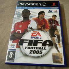 Joc Fifa Football 2005, PS2, original, alte sute de jocuri! - Jocuri PS2 Ea Sports, Sporturi, 16+, Multiplayer