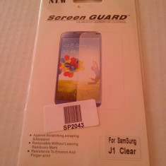 Folie protectie Samsung Galaxy J1 - screen guard ecran display lcd - Folie de protectie Oem