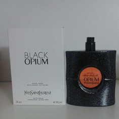Parfum Tester Yves Saint Laurent Black Opium - Parfum femeie Yves Saint Laurent, Apa de toaleta, 90 ml