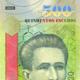 CAPUL VERDE █ bancnota █ 500 Escudos █ 2007 █ P-69 █ UNC █ necirculata - bancnota africa