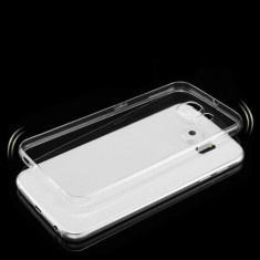 Husa Samsung Galaxy S6 Edge Plus Edge+ silicon subtire transparenta - Husa Telefon Samsung, Alcatel OT-991
