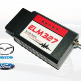 ELM327 WiFi Modificat FORScan iOS Android Windows, Ford Mazda CAN