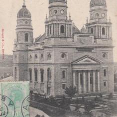 IASI, MITROPOLIA, CLASICA, TCV, CIRC. 1902 - Carte Postala Moldova pana la 1904, Circulata, Printata