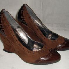 Pantof dama Made in Italia piele naturala ANNO ZERO marimea 37 - OFERTA, Culoare: Din imagine