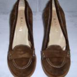 Pantofi dama piele intoarsa KAMMI marimea 38 - Reducere