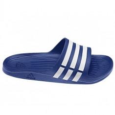 PAPUCI ADIDAS DURAMO SLIDE SYNTT COD G14309 - Papuci barbati Adidas, Marime: 42, 46, 47, Culoare: Albastru