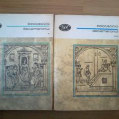 Z2 Giovanni Boccaccio - Decameronul (2 vol. stare foarte buna)