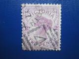 TIMBRE AUSTRALIA STAMPILAT VICTORIA