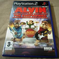 Joc Alvin and the Chipmunks, PS2, original, PAL, alte sute de jocuri! - Jocuri PS2 Altele, Actiune, 3+, Single player