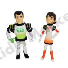 Set compus din doua figurine Miles - personajele Leo si Phoebe - Figurina Desene animate