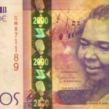 CAPUL VERDE █ bancnota █ 2000 Escudos █ 2014 █ UNC █ necirculata - bancnota africa