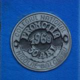 Placheta Colegiul National Nicolae Balcescu - Promotia 1969