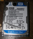 HDD SATA2 Hard disk Laptop 320gb WESTERN DIGITAL WD3200BEVT 5400RPM 8MB REDUS, 300-499 GB, 5400, Western Digital