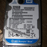 HDD SATA2 Hard disk Laptop 320gb WESTERN DIGITAL WD3200BEVT 5400RPM 8MB REDUS