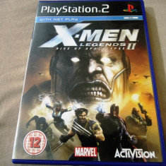 Joc X-Men Legends II Ryse of Apocalypse, PS2, original, alte sute de jocuri! - Jocuri PS2 Activision, Actiune, 12+, Single player