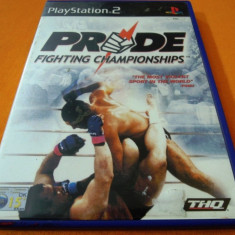 Joc Pride Fighting Championship UFC, PS2, original, alte sute de jocuri! - Jocuri PS2 Eidos, Sporturi, 3+, Multiplayer