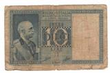 SV * Italia  10  LIRE  1935 / 1939     Benito Mussolini     WWII